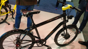 vélo électrique au CES de Las Vegas